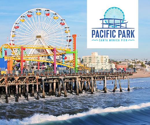 Santa Monica Pier Pacific Park All Day Ride P