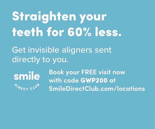 SmileDirectClub - Braces for 60% Less
